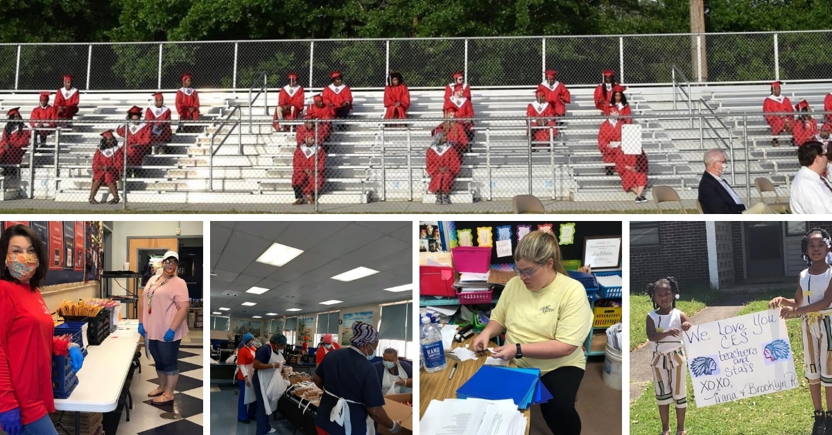Chickasaw City Schools collage image
